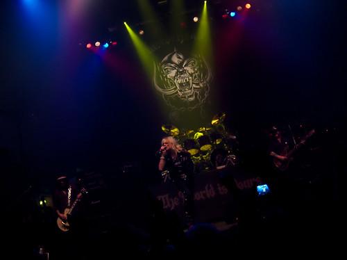 Motörhead @ Kaapelitehdas, 2011-12-18