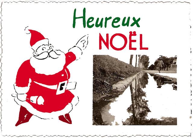 Viet-Nam. Tonkin 1951. Heureux Noel. Carte de voeux