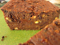 Moist and Boozy Fruitcake with Rum and Wine