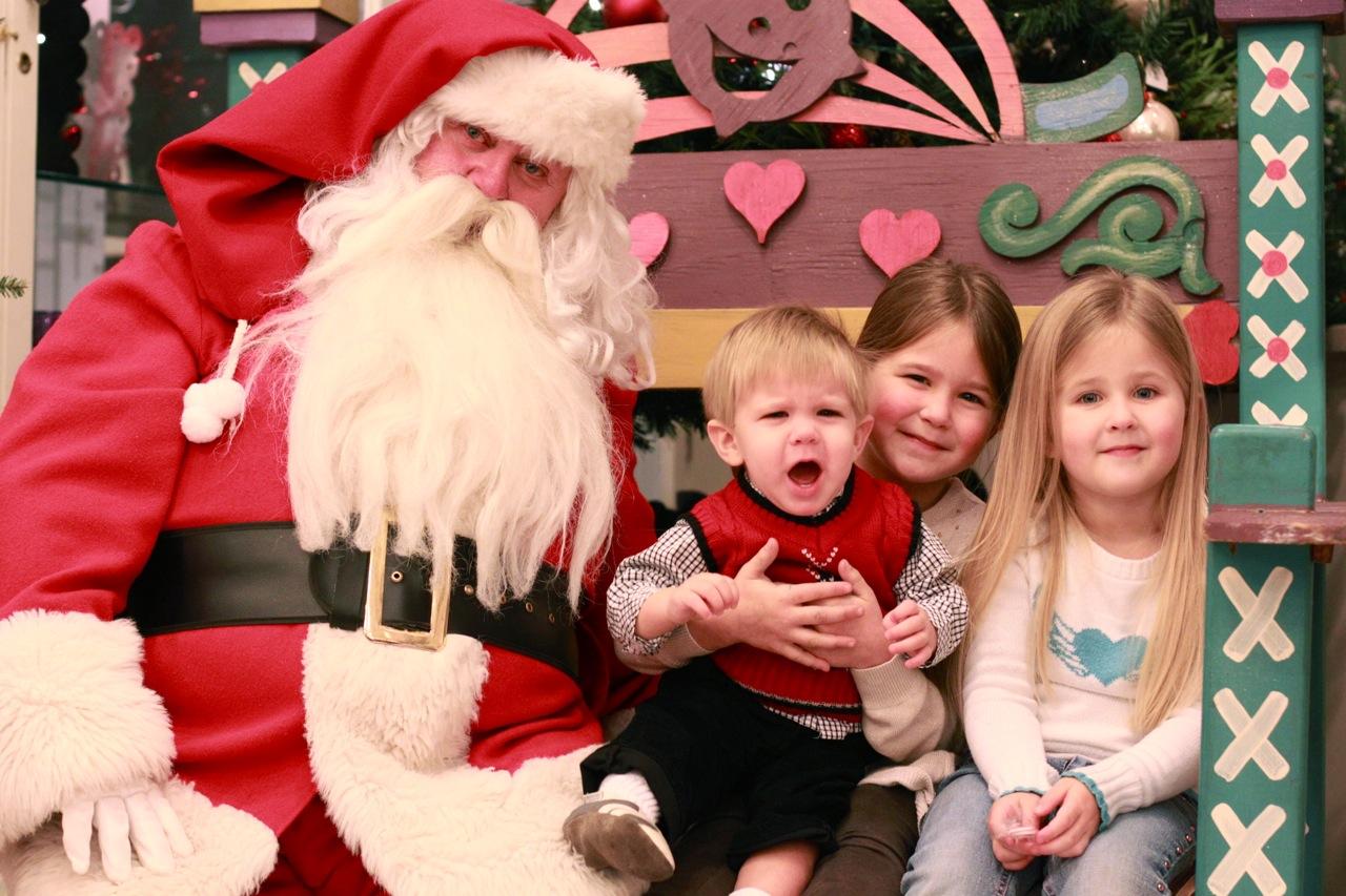 Santa visit 2011