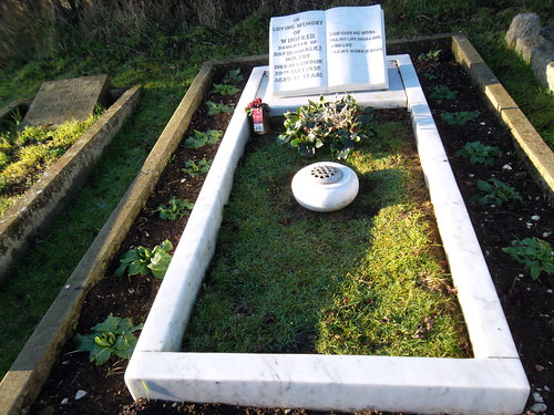 The grave of Winifred Holtby