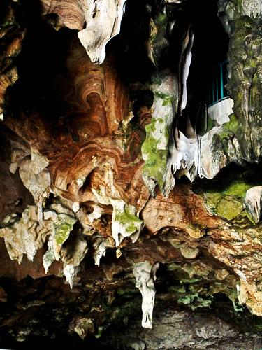 IMG_0394 limestone( stalactite) ,Kek Look Tong,Ipoh . 石灰岩 - 怡保极乐洞