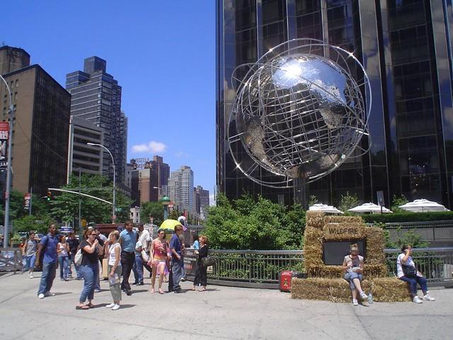 Foto vista de Central Park en Nueva York EE.UU