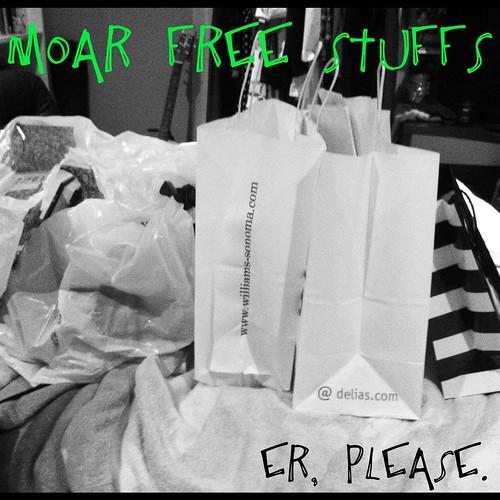 free stuffs?