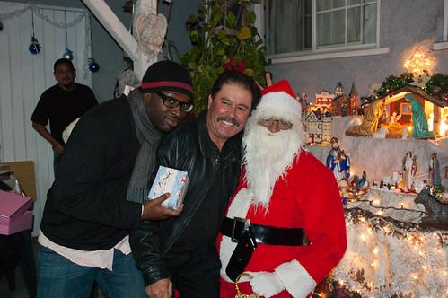 Sean, tío Pancho & Santa