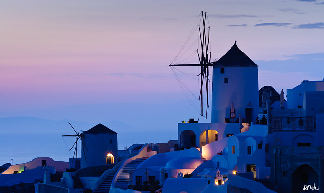 Oia sunset, Santorini (Greece)