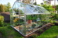 Clear Glass Hobby Green House Kit
