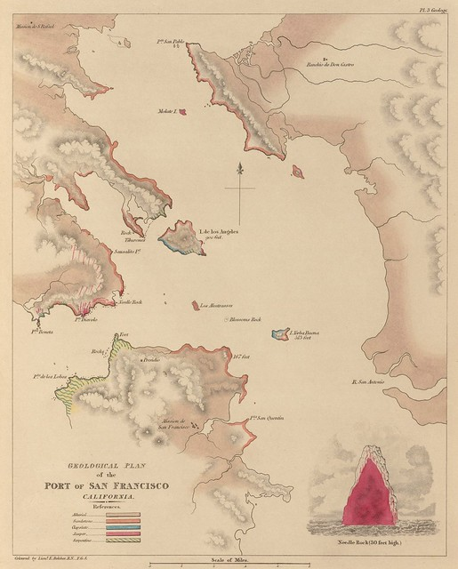 Geological Plan of the Port of San Francisco (1839)