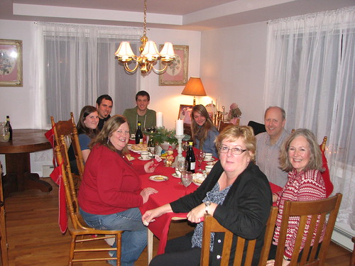 Christmas dinner at Mike and Marti's by Southworth Sailor
