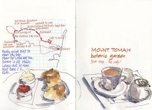 Summer! 27TU_02 Mt Tomah Gardens Morning Tea