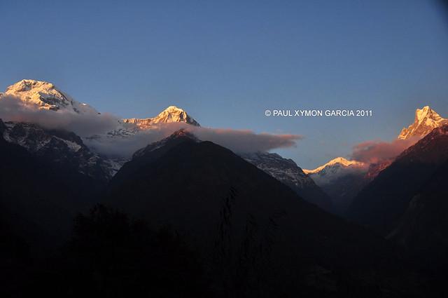 View from Chomrong, Annapurna Himal, Nepal