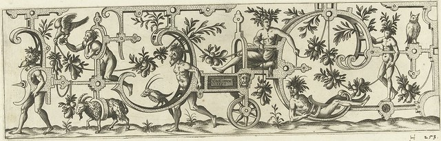 De wagen wordt getrokken door...1552