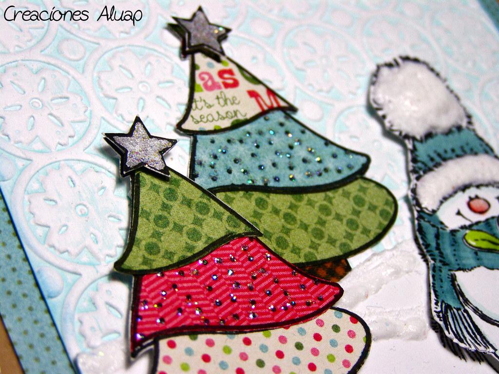 Tarjeta Navidad Jolly Friends / Chritsmas card Jolly Friends ...