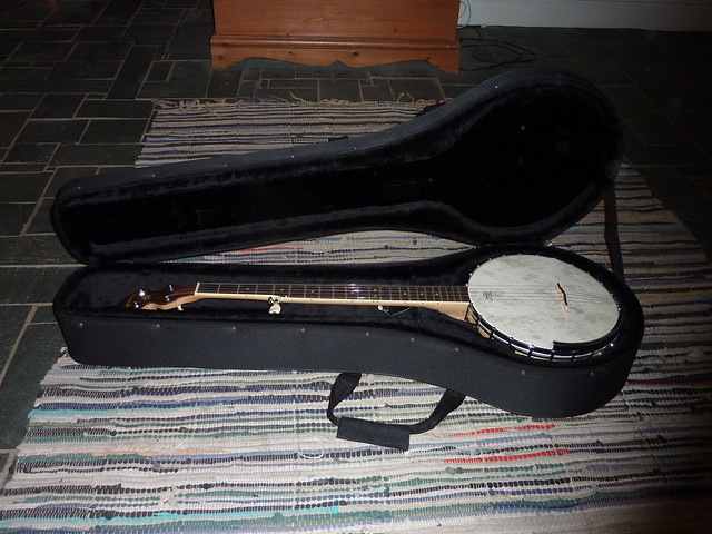 Pilgrim  String Banjo With Whyte Lady Tone Ring