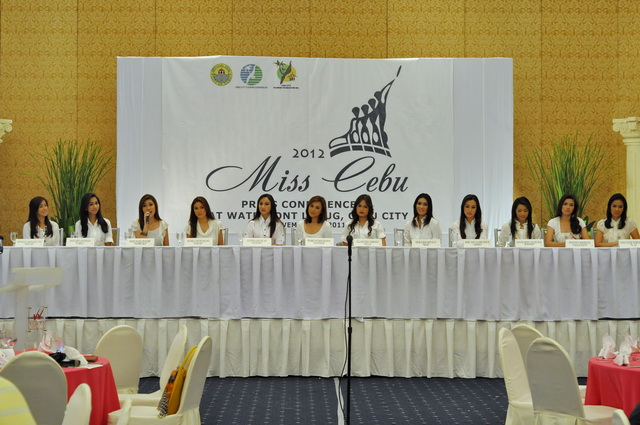 Miss Cebu 2012 Launch Sinulog