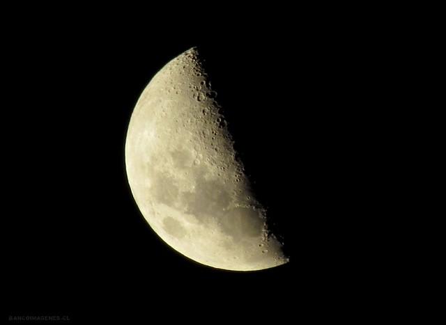 Luna cuarto creciente a o nuevo noche de a o nuevo for Cuarto menguante de la luna