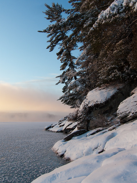 Shoreline view: December 2011