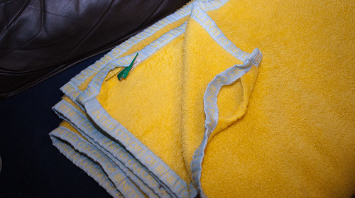 Yellow Benetton Blanket