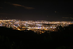 Night View Over Bogotá