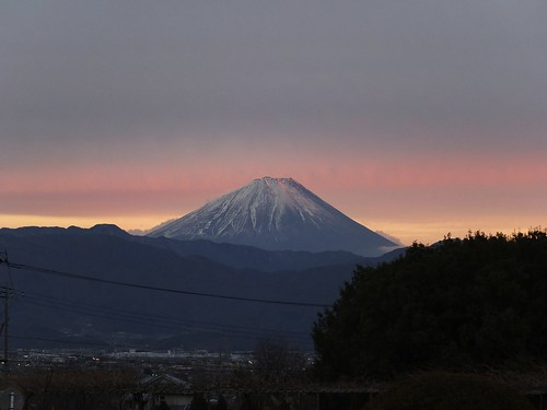 Today's Mt.Fuji  (Fuji X10)