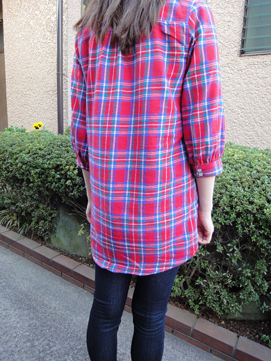 PLAID SHIRT DRESS from MILK FED_2