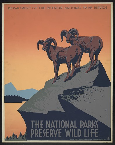 The national parks preserve wild life (LOC)