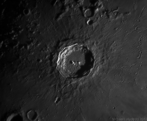 Copernicus Crater 030112 by Mick Hyde