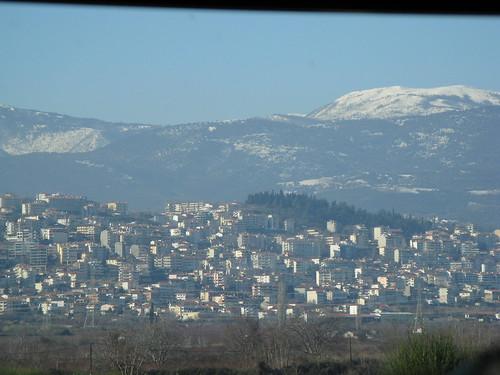 vacation mountains greece grecia grèce fromthecar berea ελλάδα βέροια véria