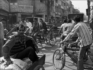 Quiet time in Delhi