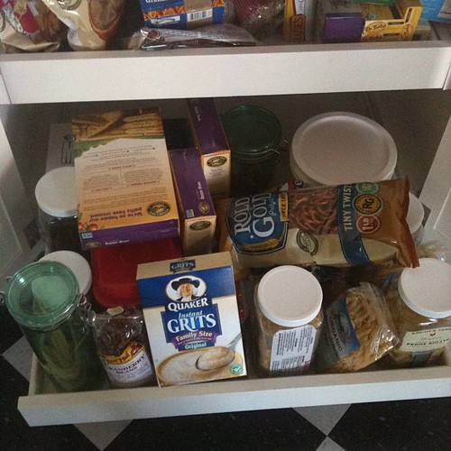 Lower pantry - before