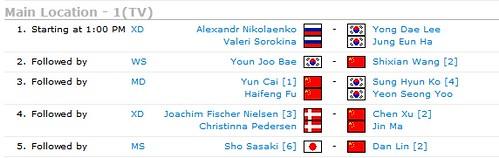 2012 Victor Korea Open (ビクター韓国オープン)2