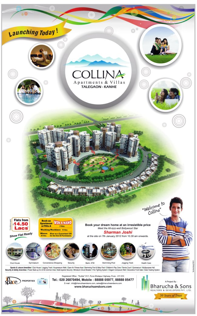 Collina Kanhe Phata Launching Today, 7th January, 2012!