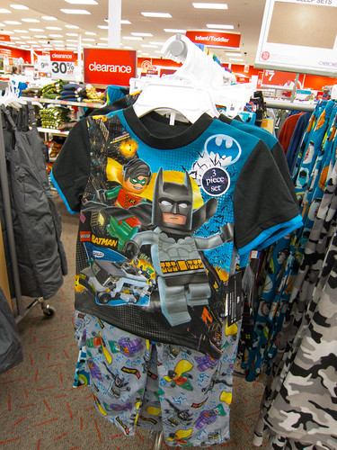Not Batman Pajamas, but LEGO Batman Pajamas