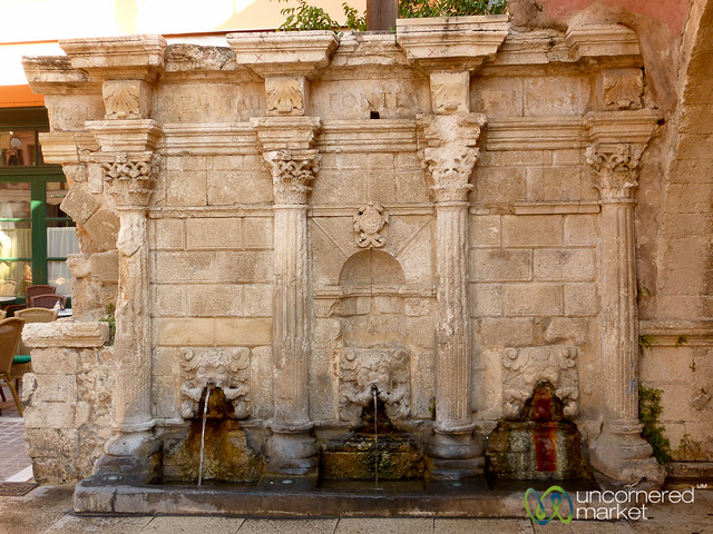 Rimondi Fountain - Rethymnon, Crete
