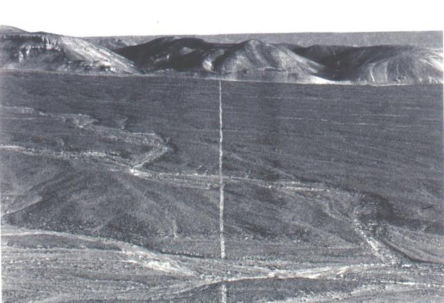 richard long walking a line in peru 1972