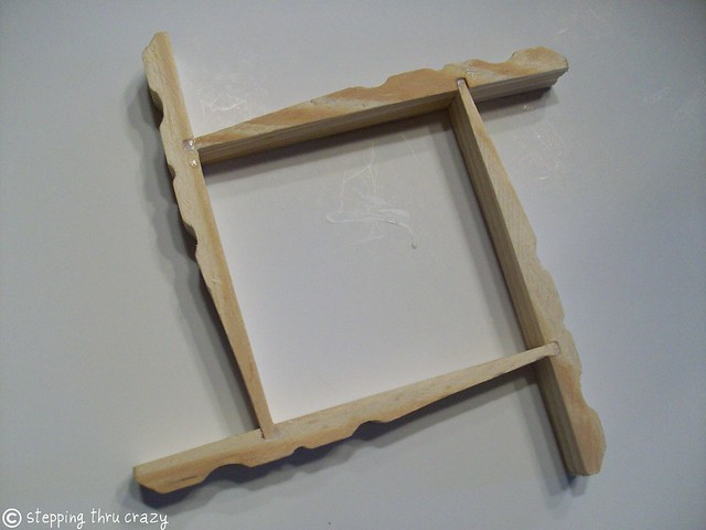 Hanging Clothespin Earring Frame