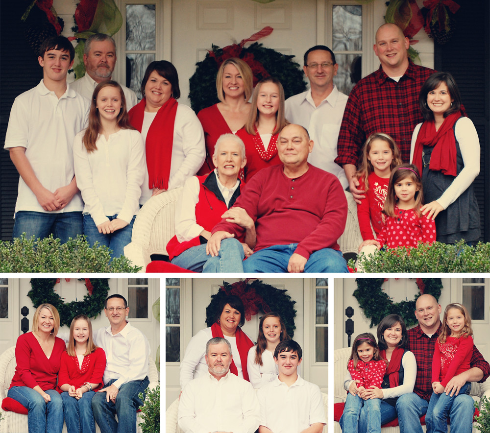 riles family photos collage