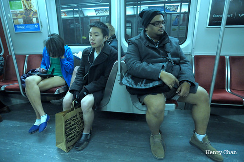 No Pants Subway Ride (Toronto) 2012