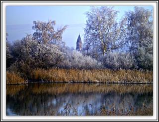 Frostiger Tag & Reif / Winter in Greifswald