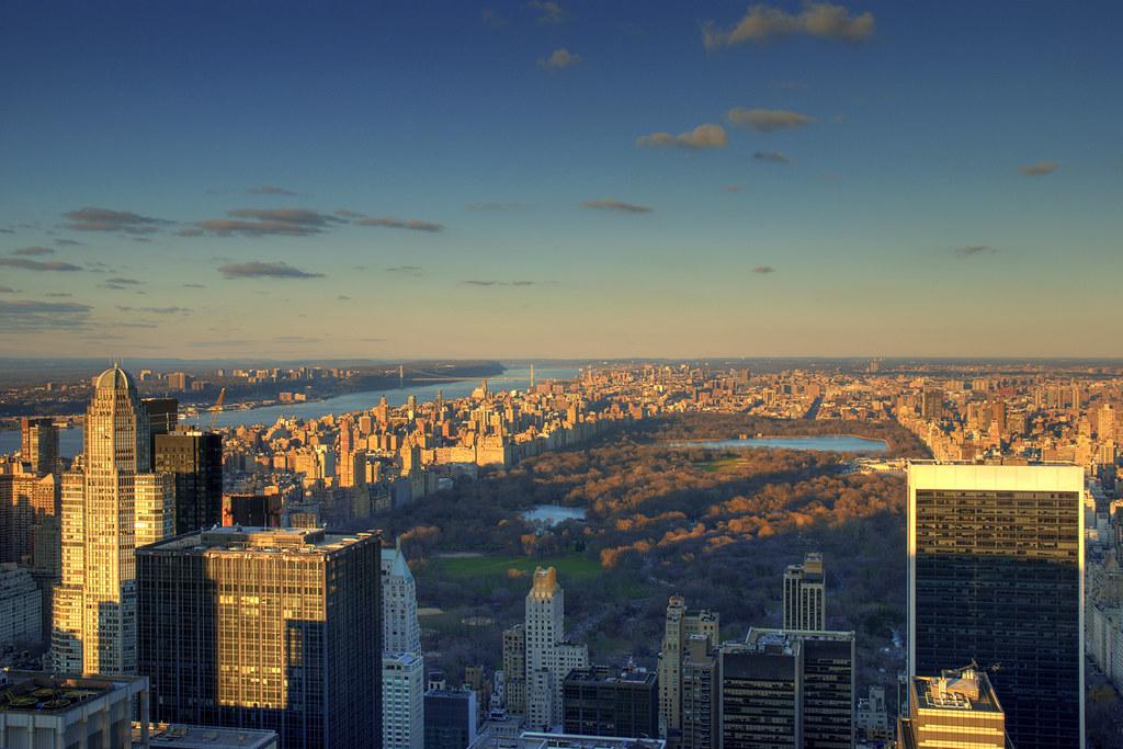 Sunset tones ~ Central Park