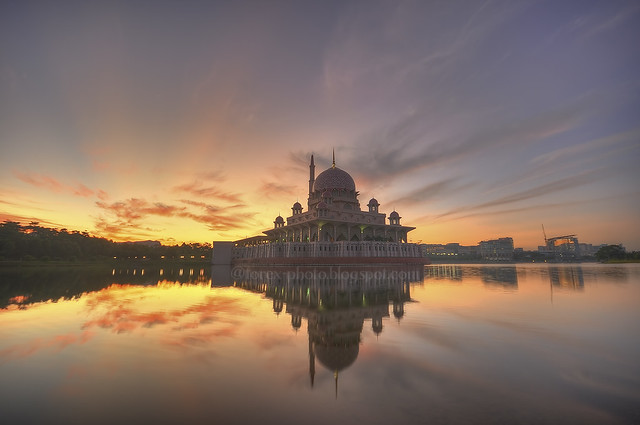 Putra Mosque, Putrajaya, Malaysia.