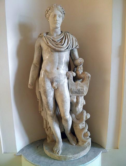 Apollo from the Domus of the Protiro, 2nd century AD, Ostia Antica, Italy