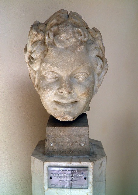Satyr, from the Baths of the Forum, 2nd century AD, Ostia Antica, Italy