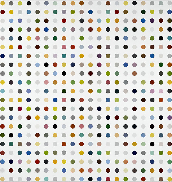 THE DAMIEN HIRST: THE COMPLETE SPOT PAINTINGS, 1986-2011