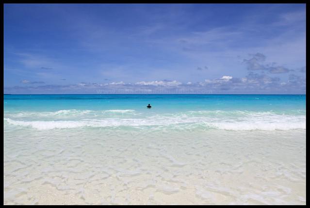 Ouvea lagoon.. simply paradise