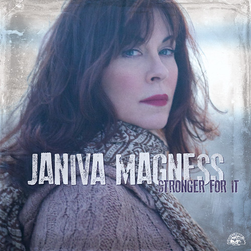 JANIVA MAGNESS - STRONGER FOR IT (CD cover)