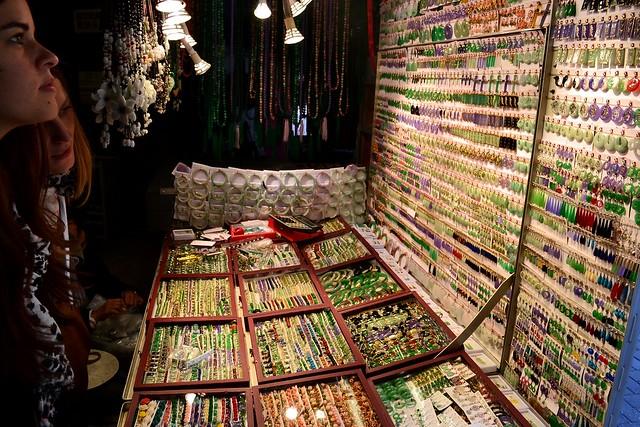 Hong Kong's Jade market stall