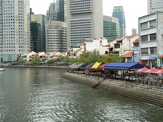 Clarke quays (Singapore 2007)