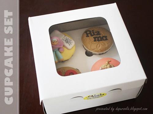 Cupcake Set - Paket Eco