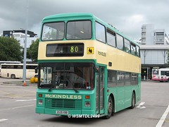 G539 VBB Leyland Olympian Northern Counties.Buchanan Bus Station GLASGOW